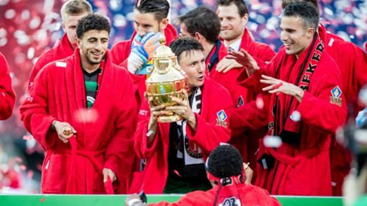 Bilal Basacikoglu, Steven Berghuis, Robin van Persie, Feyenoord, KNVB Beker 04222018