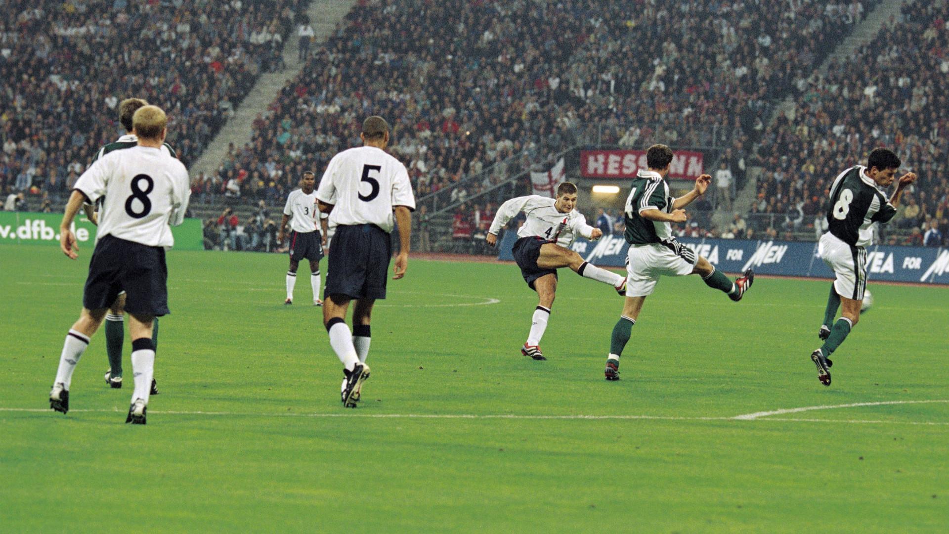 Steven Gerrard England Germany