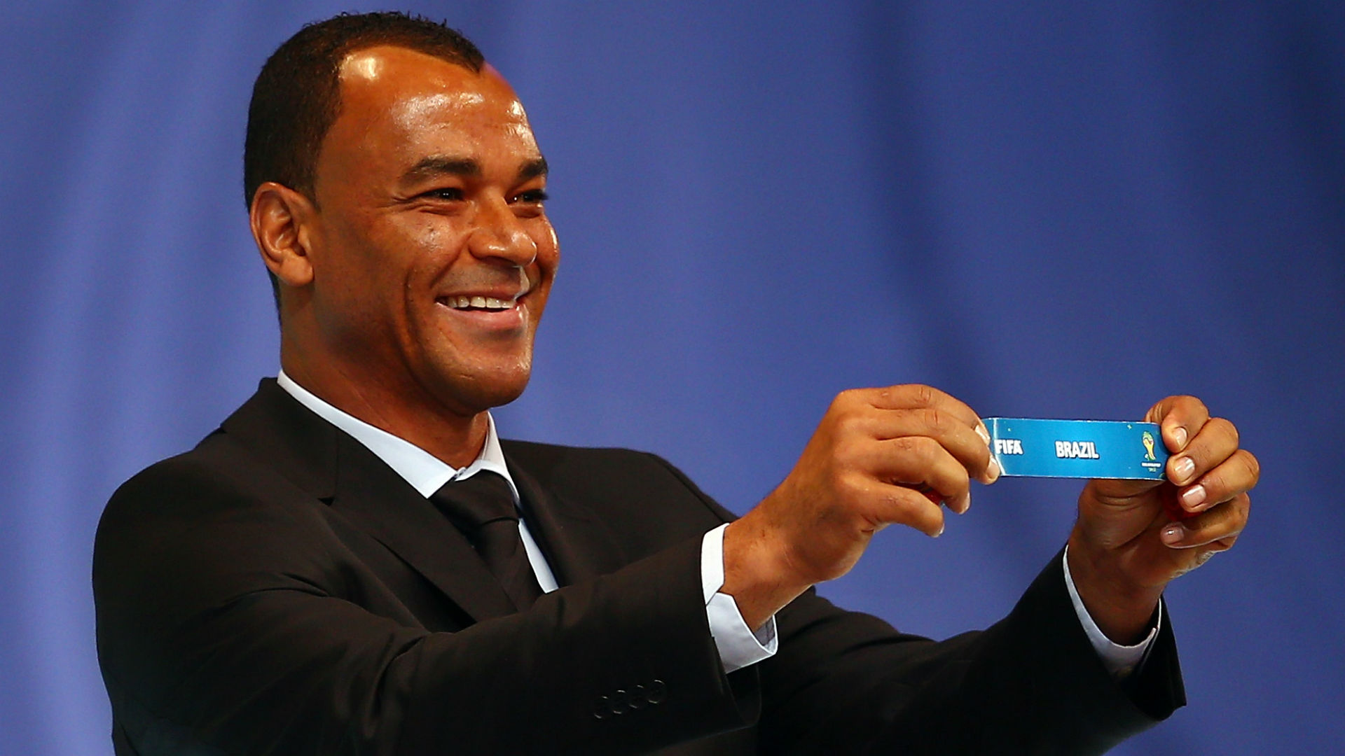 Cafu draw Brazil World Cup 2014