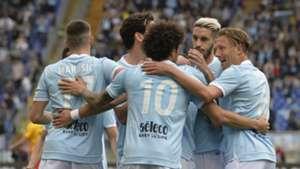 Lazio celebrates, Serie A, 31032018