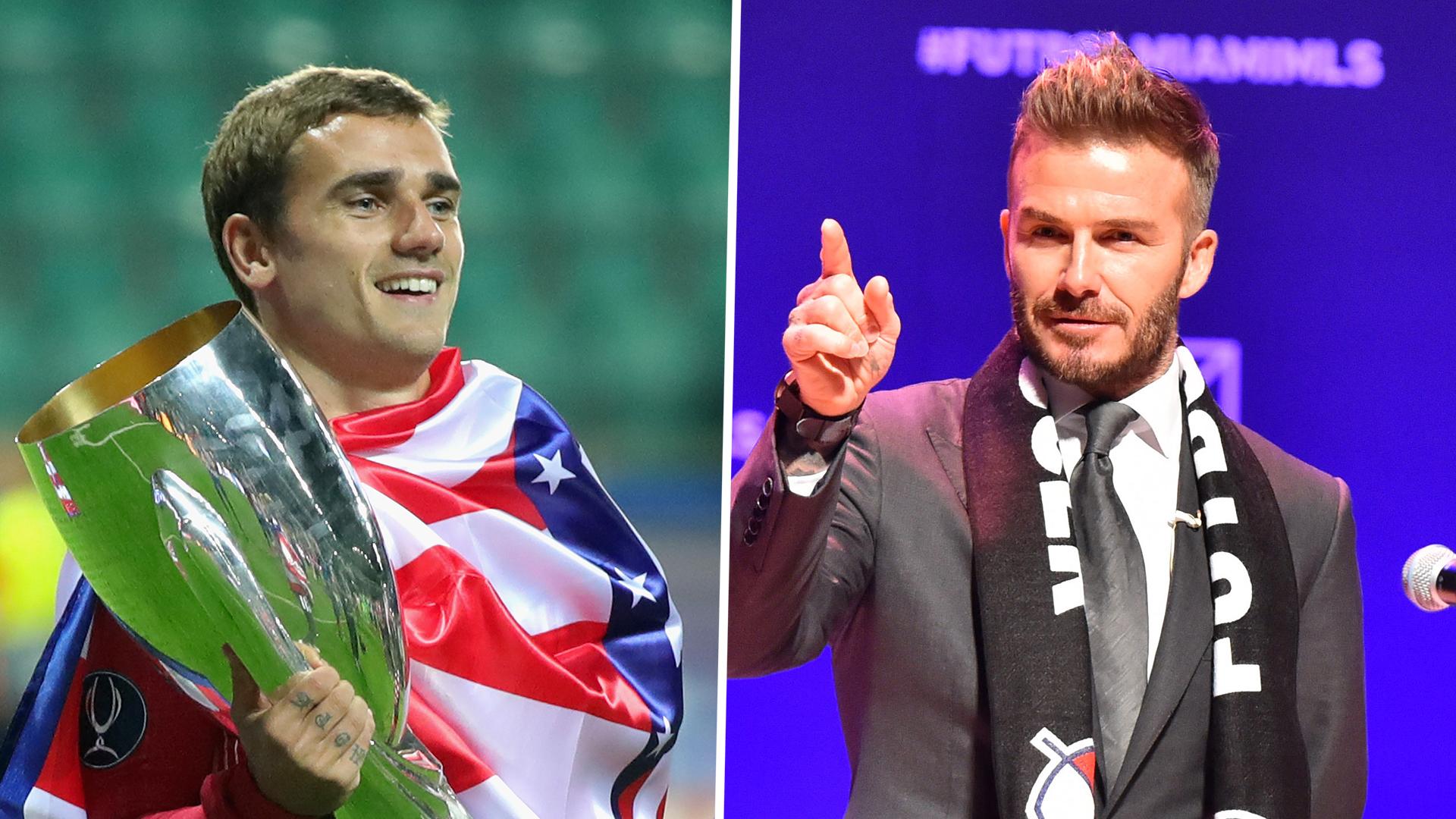 Griezmann: If Beckham Calls, I'll Go