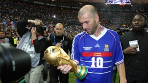 Zinedine Zidane France Brazil 1998 World Cup Final 1998