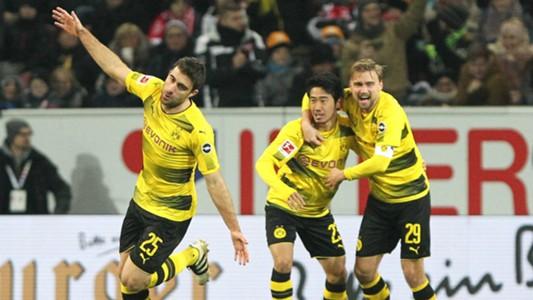 Borussia Dortmund Sokratis Kagawa Bundesliga