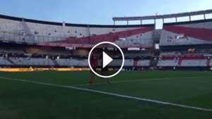 VIDEO PLAY Nacho Fernandez entrenamiento RIVER