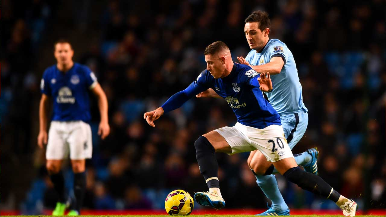 Ross Barkley and Frank Lampard