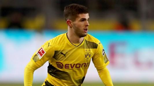 Christian Pulisic Borussia Dortmund Augsburg
