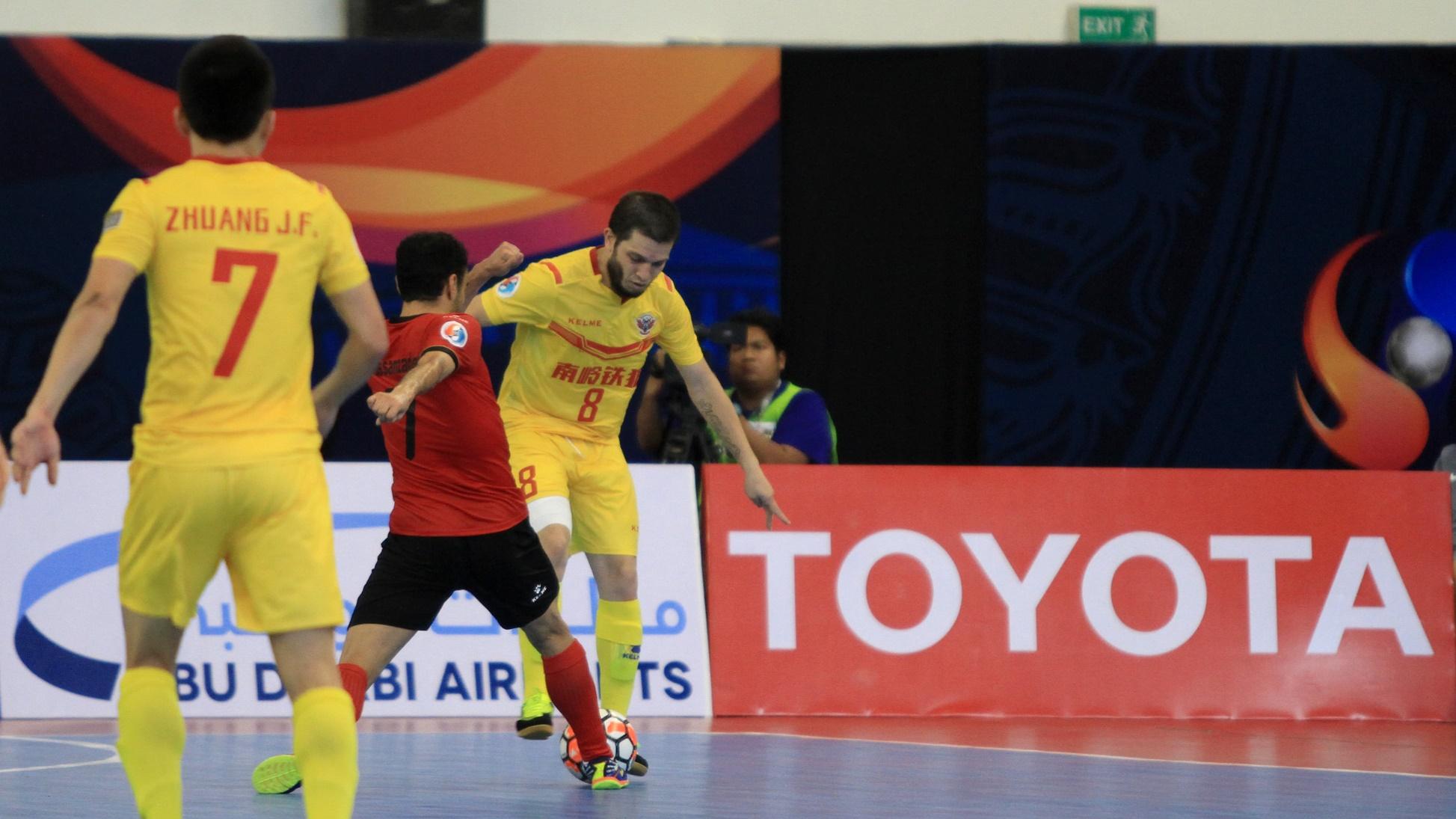 2017 AFC Futsal Club Championship   Sanaye Giti Pasand vs Shenzheng Nanling