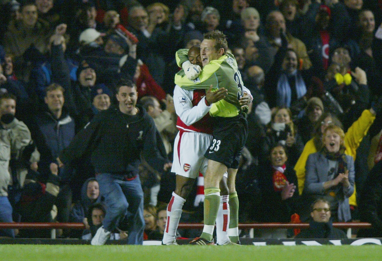 Graham Stack Arsenal 2004