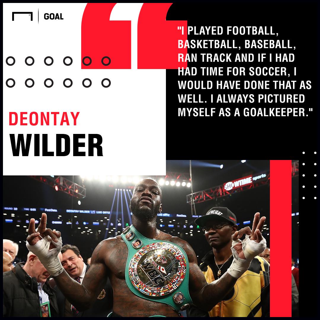 Deontay Wilder Goalkeeper PS