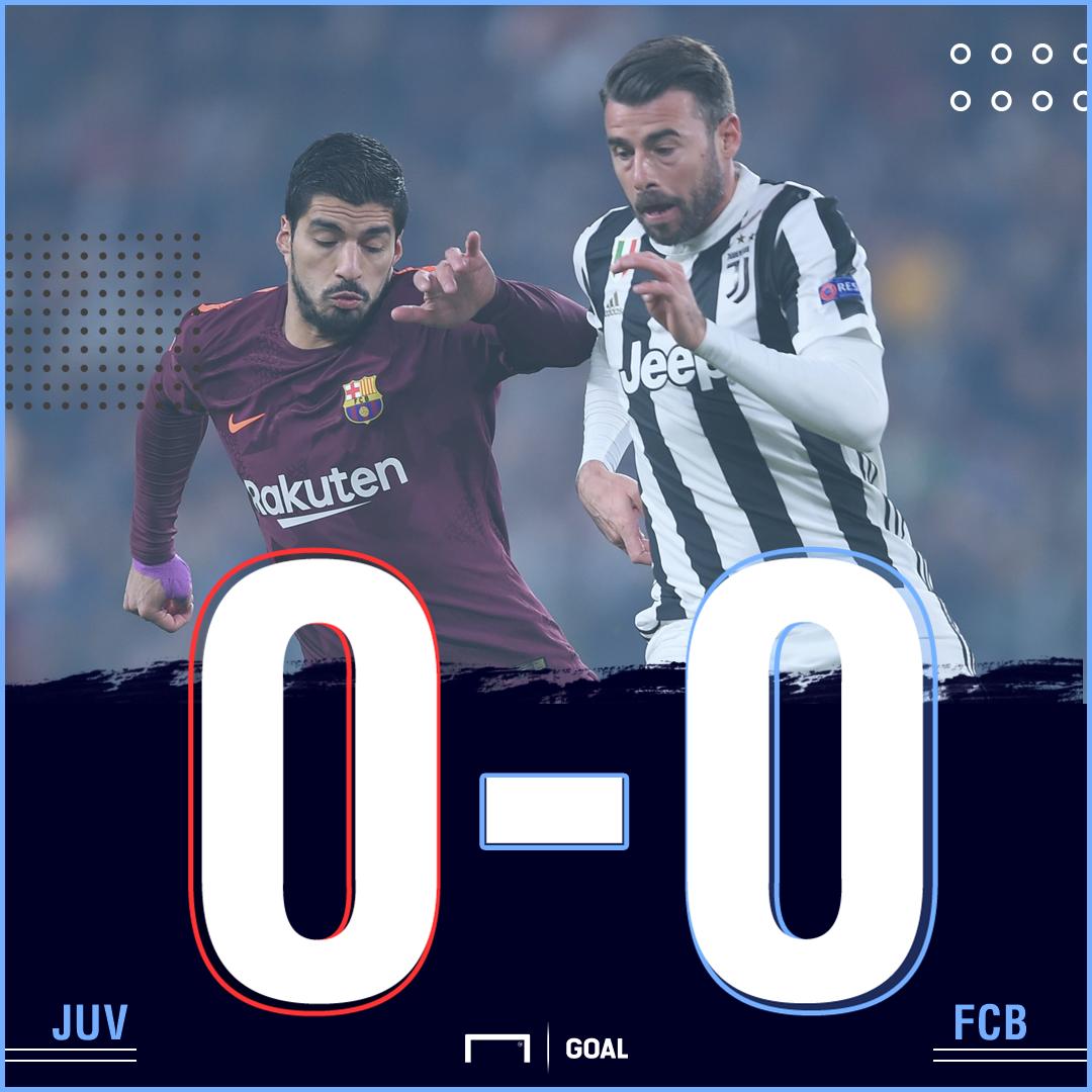 Juve Barca score