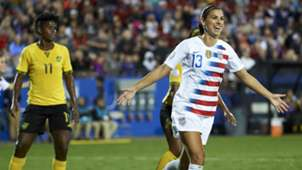 Alex Morgan Jamaica USWNT