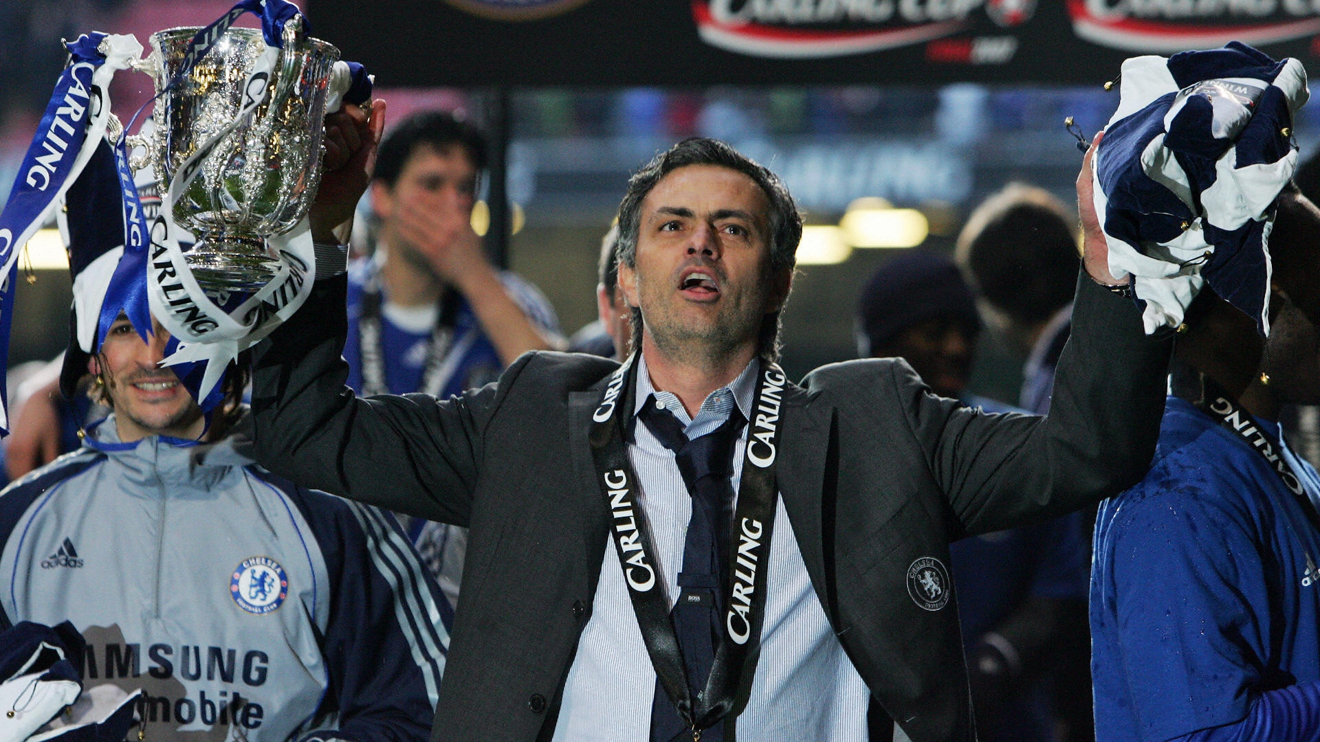 Mourinho Carling Cup