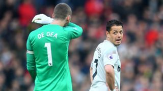 Javier Hernandez Chicharito West Ham United David de Gea Manchester United