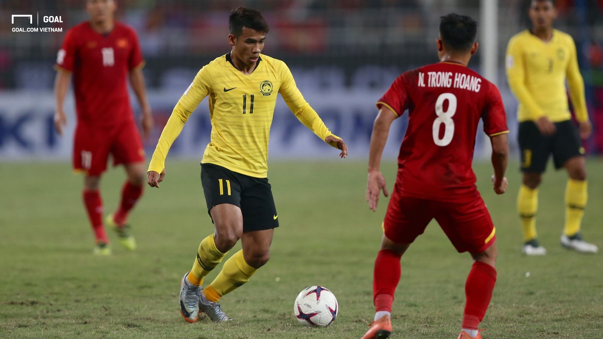 Vietnam Malaysia AFF Suzuki Cup 2018