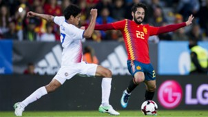 Isco Alarcon Spain Costa Rica Friendly