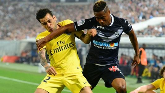 Francois Kamano Daniel Alves Bordeaux PSG Ligue 1 22042018