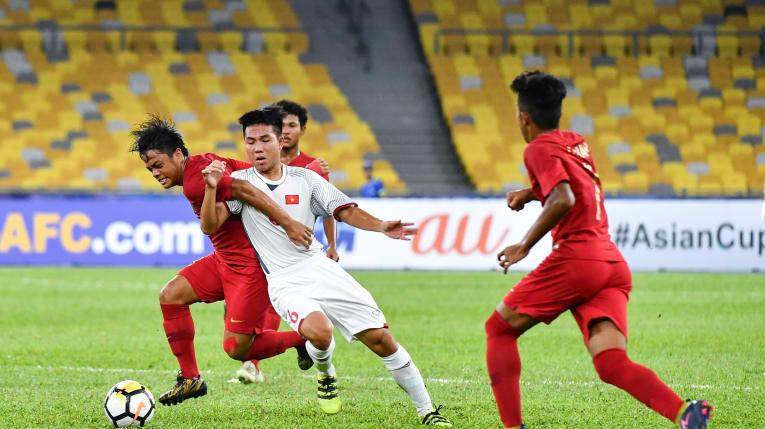 Indonesia vs Vietnam AFC U16 Championship