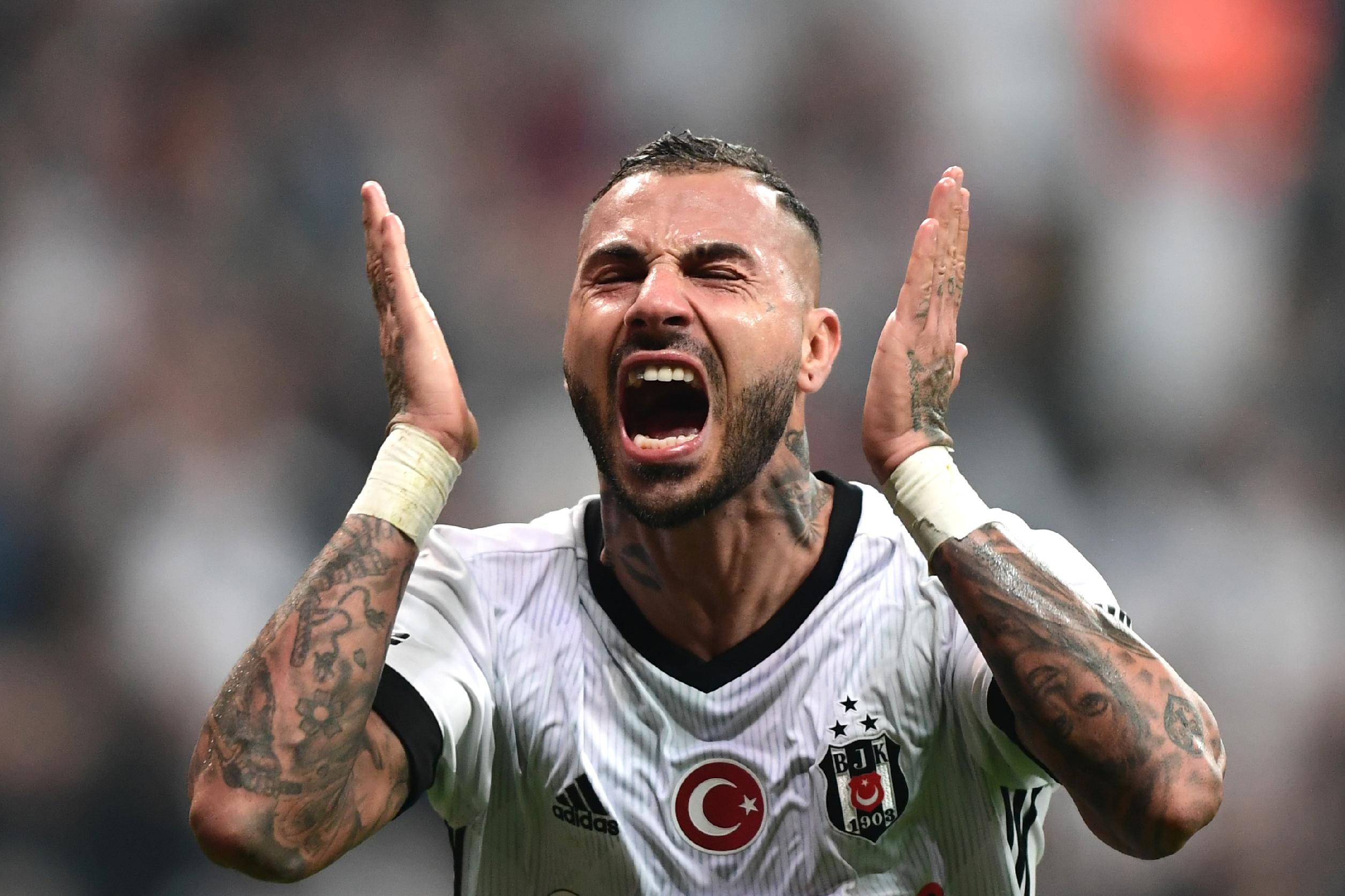 Ricardo Quaresma Besiktas Galatasaray 12/02/17