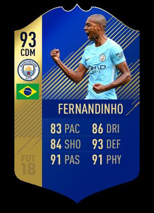FIFA 18 Team of the Season Fernandinho