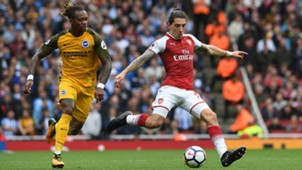 Gaetan Bong against Arsenal