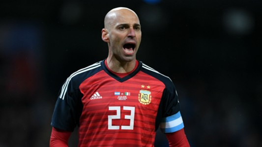 Willy Caballero Argentina