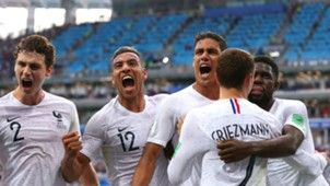 Raphael Varane Uruguay France World Cup 06072018