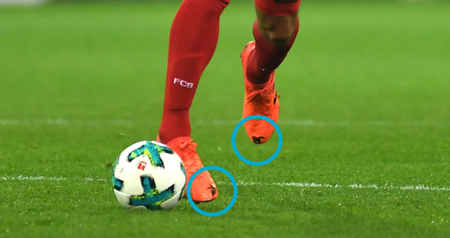 EMBED ONLY: Mats Hummels boot holes
