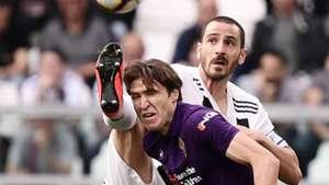 Chiesa Bonucci Juventus Fiorentina Serie A