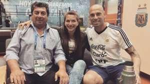 Gabriela Caballero Willy Caballero Seleccion Argentina Mundial Rusia 2018