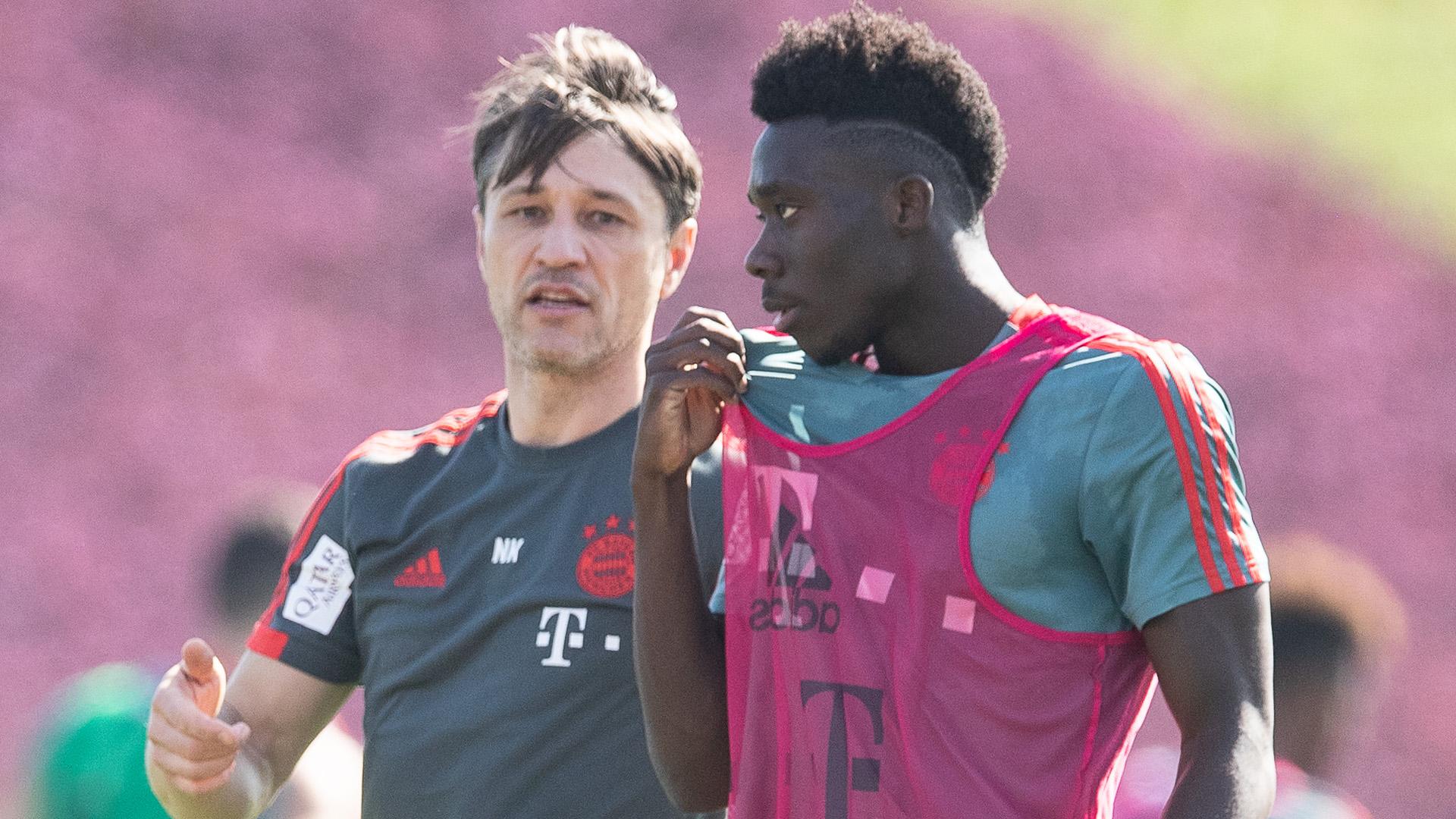 Kovac Davies Bayern München Doha 2019