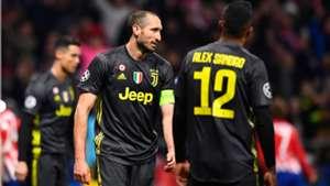 Giorgio Chiellini Atletico Madrid Juventus Champions League