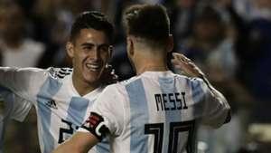 Pavon Messi Argentina Haiti 290518