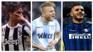 Daftar Topskor Serie A Italia 2017/18