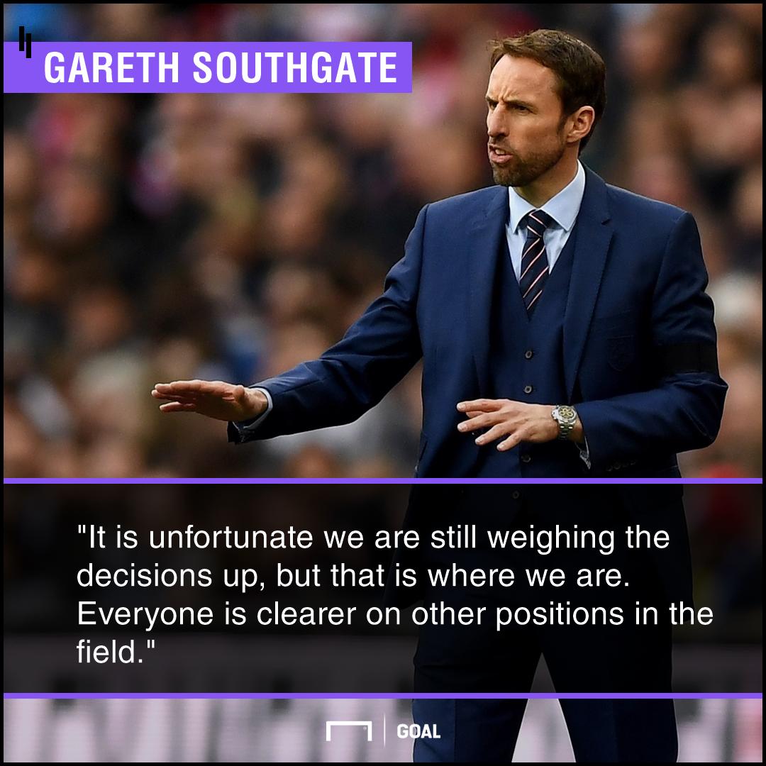 Gareth Southgate England goalkeeper problem