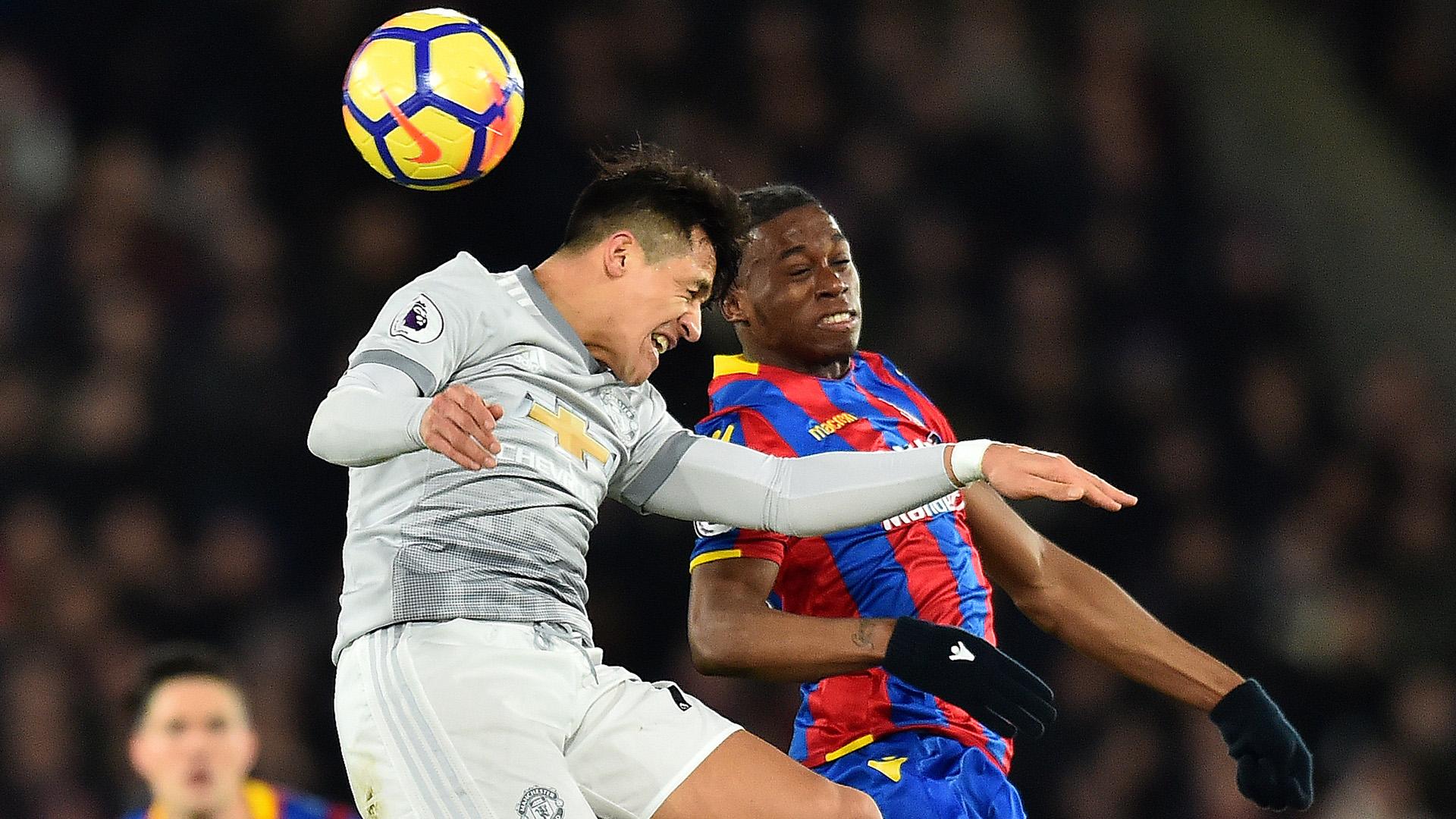 Aaron Wan-Bissaka Crystal Palace Manchester United