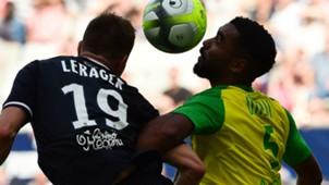 Lukas Lerager Levy Djidji Bordeaux Nantes Ligue 1 15102017