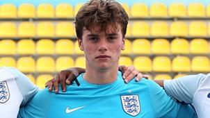 Curtis Anderson England U17
