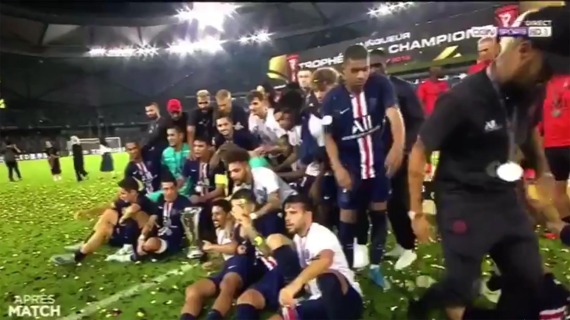 Neymar Kylian Mbappe PSG Trophee des Champions 2019