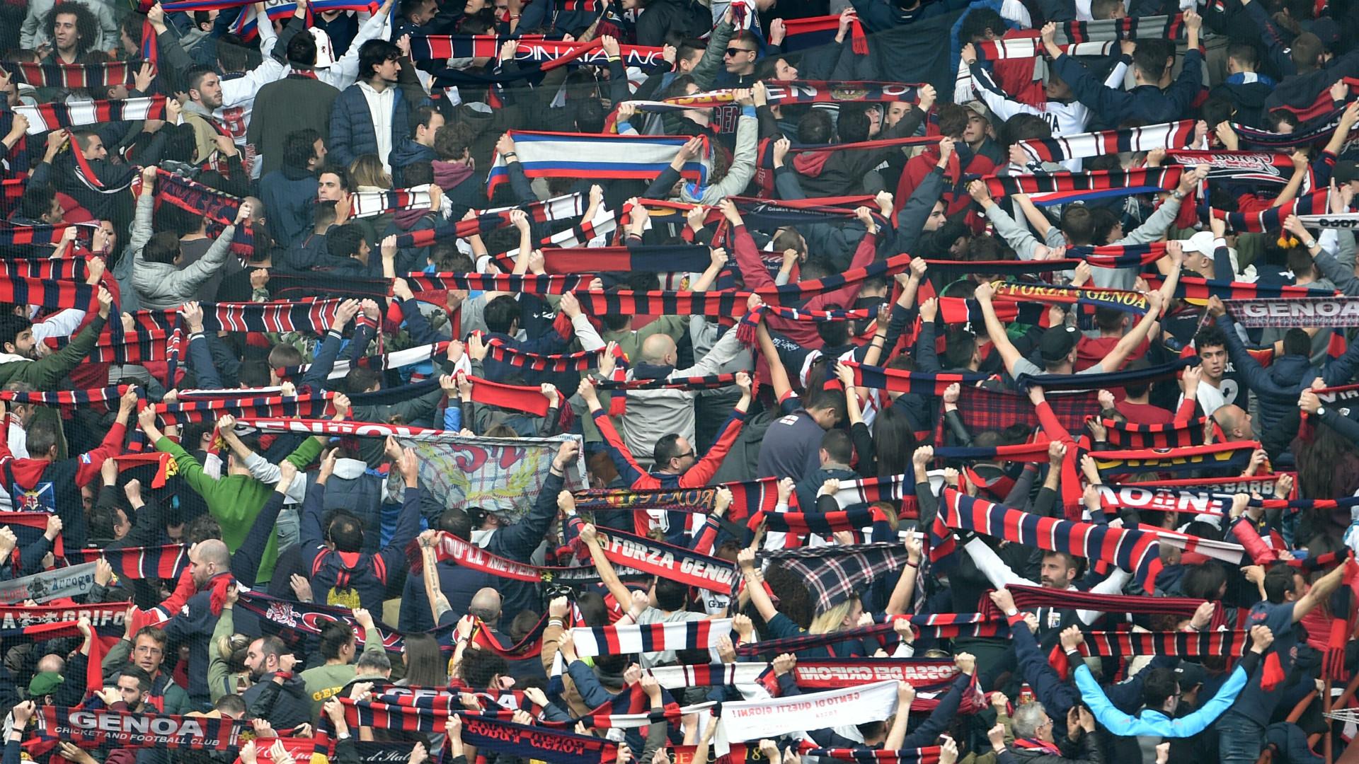 Genoa supporters