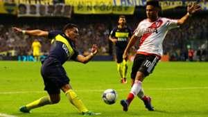Cristian Pavon Gonzalo Martinez Boca River Primera Division 2016-17