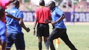 Nzoia coach Bernard Mwalala.