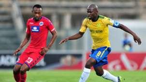 Thabo Mnyamane, SuperSport United & Hlompho Kekana, Mamelodi Sundowns
