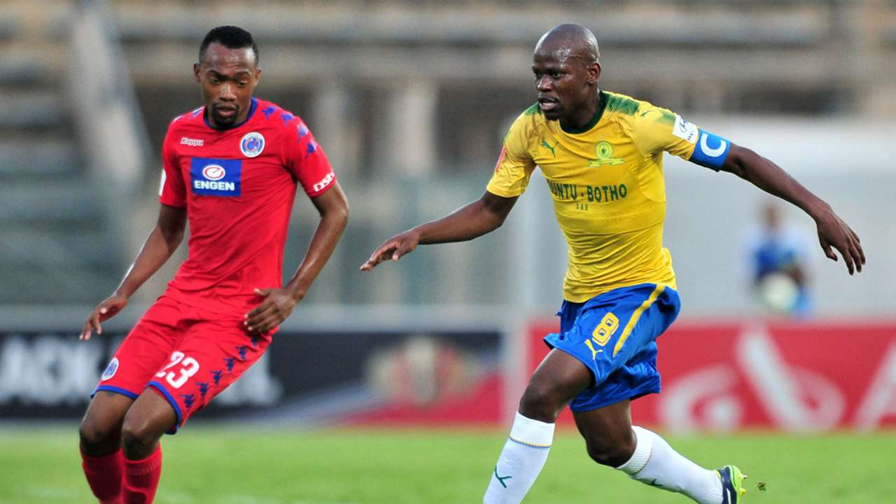 Thabo Mnyamane, SuperSport United & Hlompho Kekana, Mamelodi Sundowns
