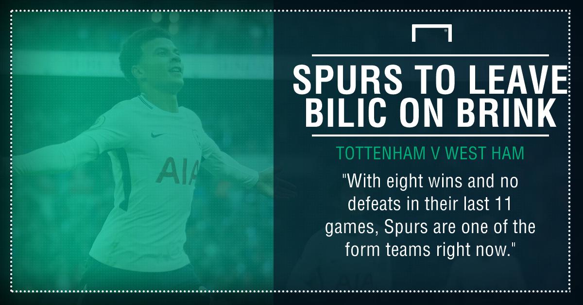 Spurs West Ham graphic