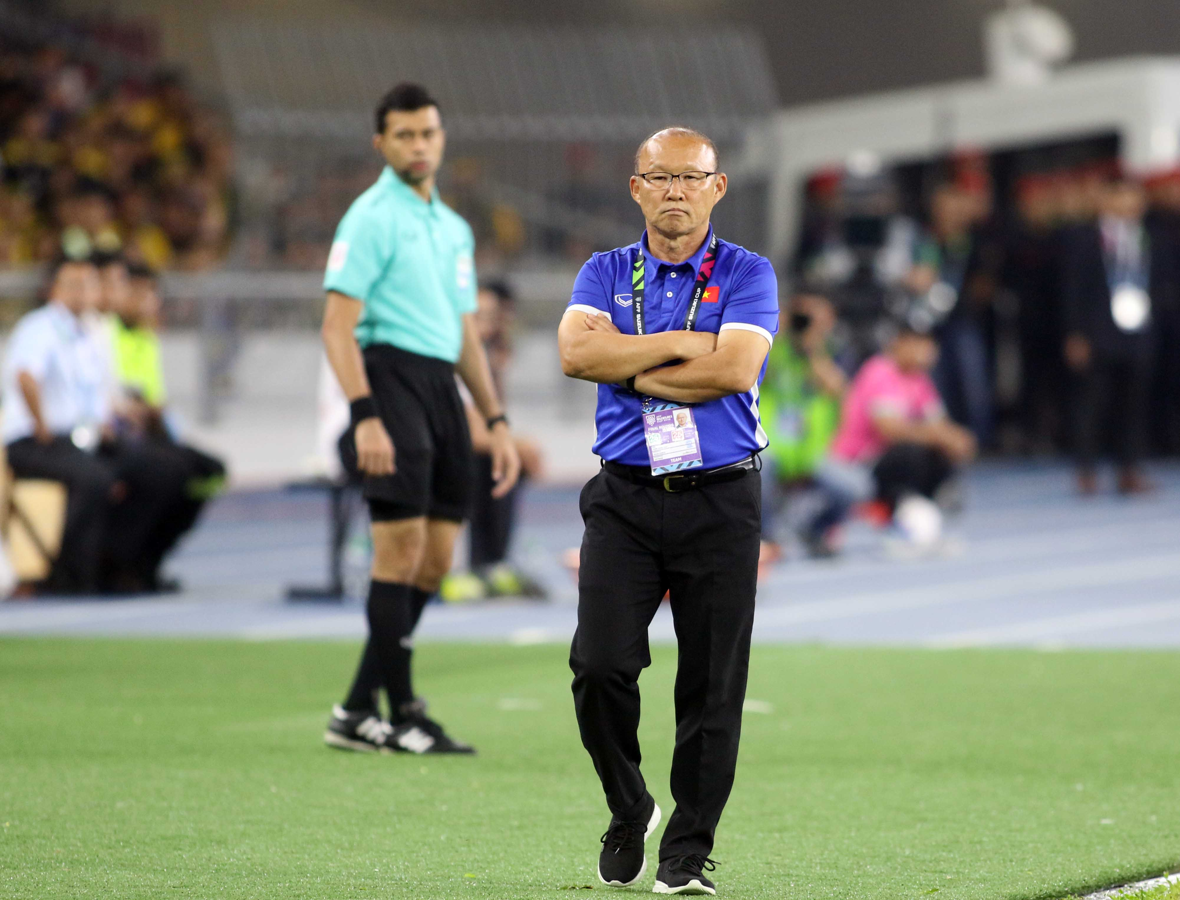 Park Hang-seo Vietnam Malaysia AFF Suzuki Cup 2018
