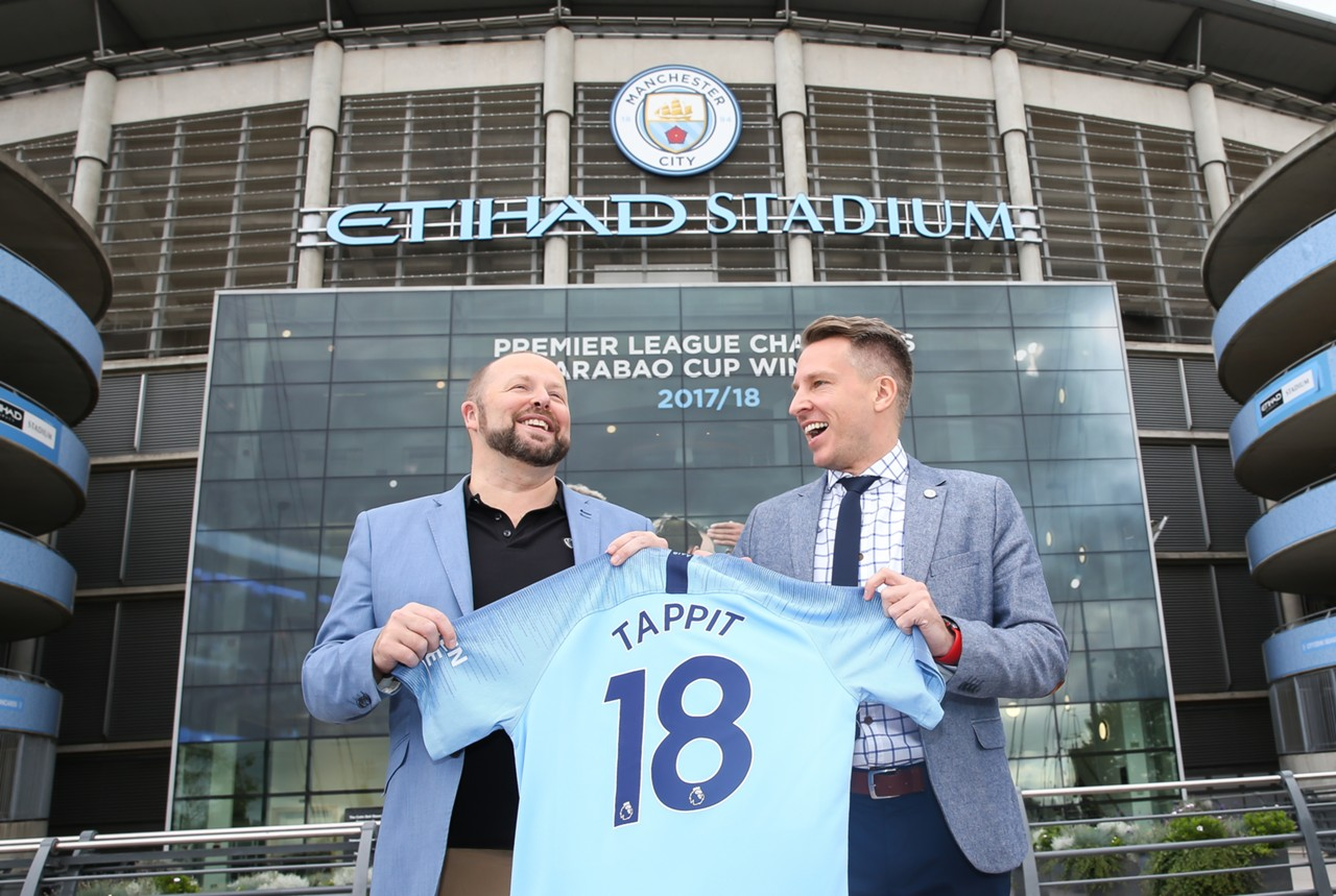 Manchester City announce partnership with Tappit in the UK and Asia Pacific