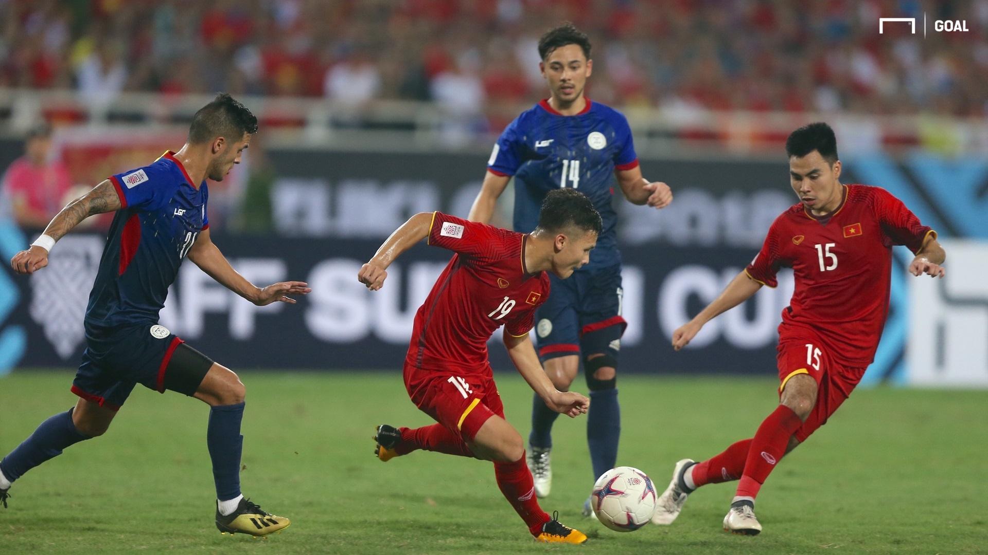 Nguyen Quang Hai Pham Duc Huy Vietnam AFF Cup 2018