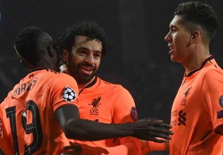 Salah, Mane & Firmino lead Liverpool