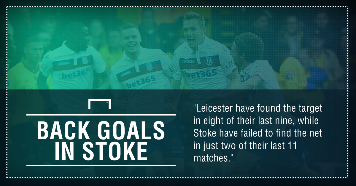 Stoke Leicester graphic