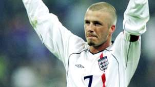 David Beckham England Germany